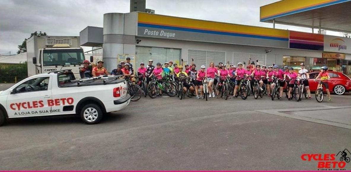 Pedal Rosa Lages - Cycles Beto