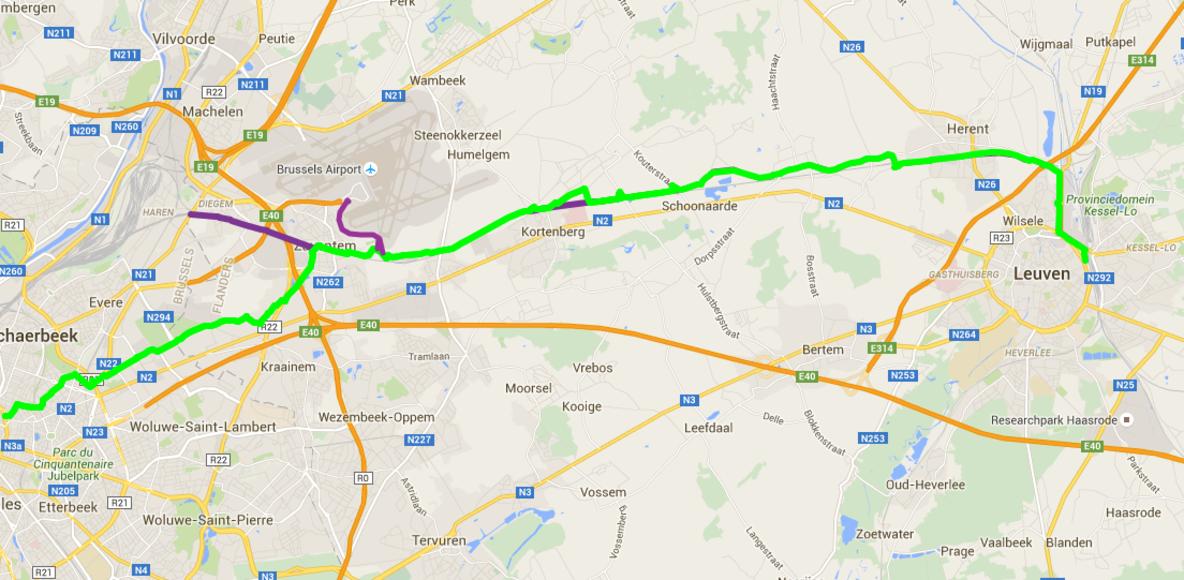 F3 - HST Pendelaars Leuven - Zaventem