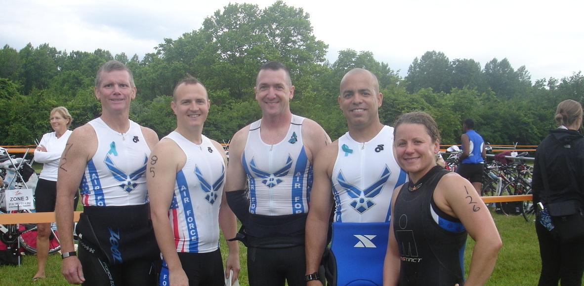 WPAFB Varsity Triathlon Team