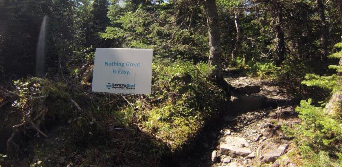 trail route rimouski