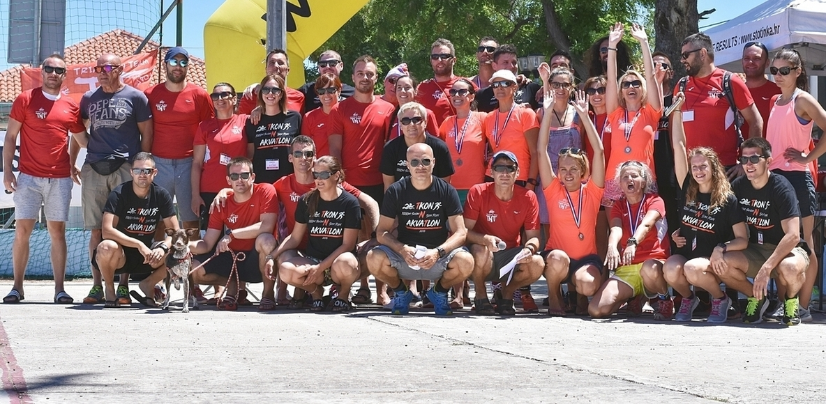 Triathlon team TNT Zadar