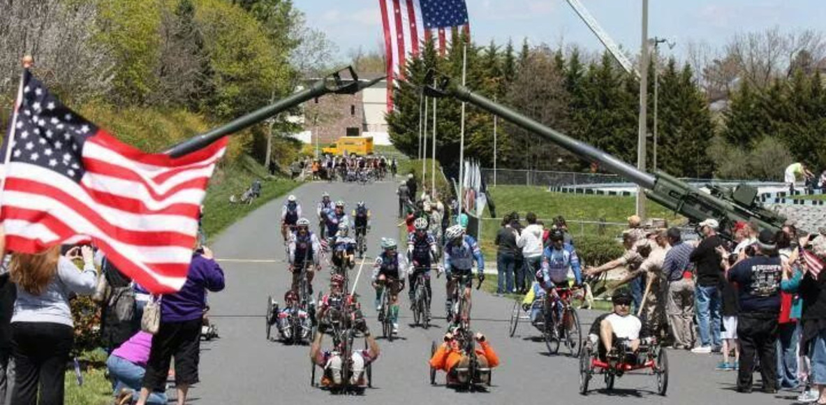 Wounded Warrior Cyclist