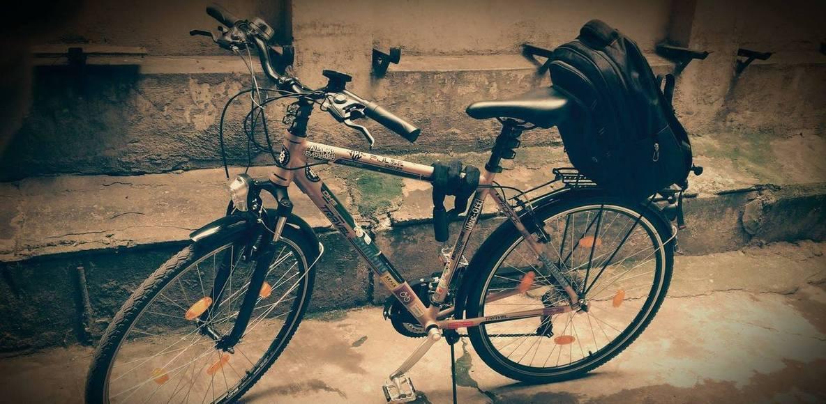CURIERI pe bicicleta ROMANIA (bike messengers)