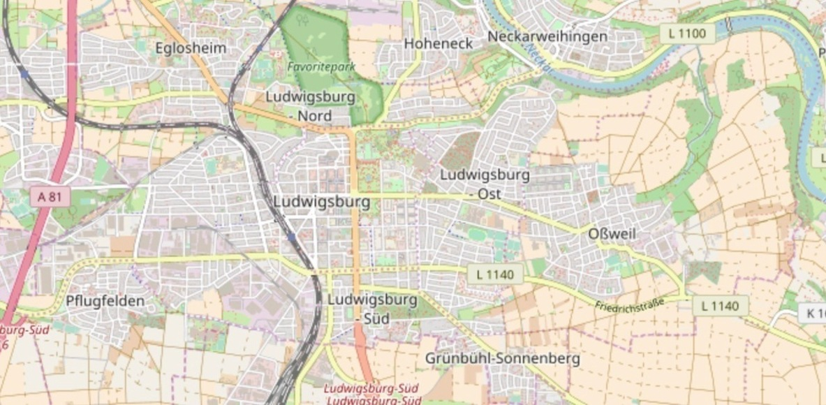Laufen in Ludwigsburg