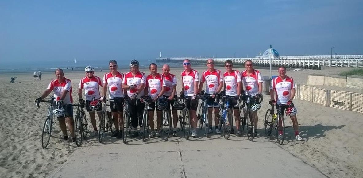 Bucks Fire Charity Cycle Team