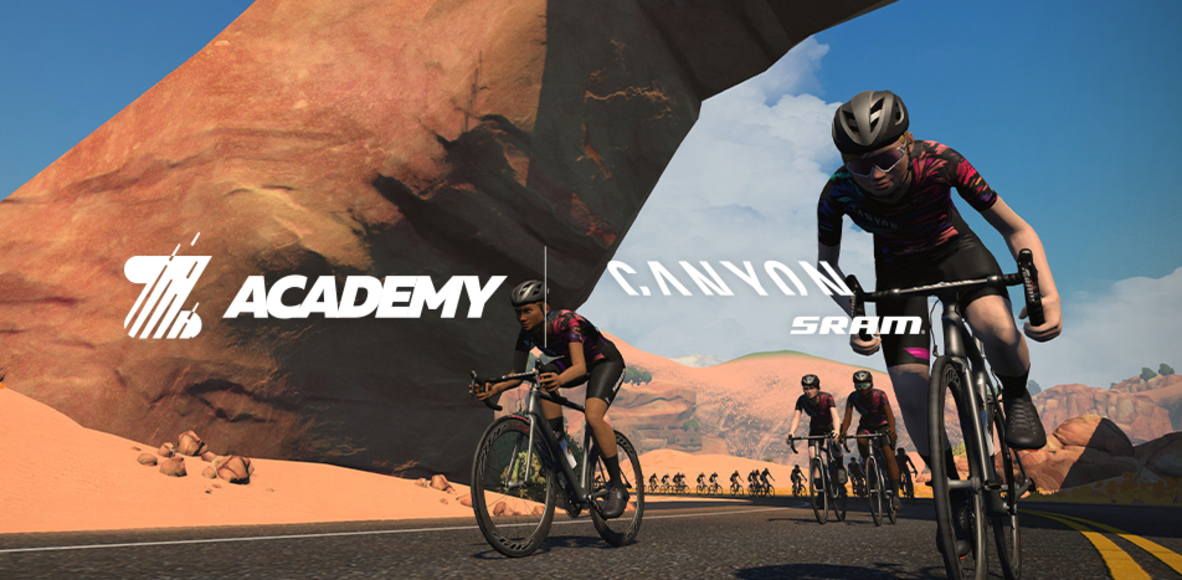 CANYON SRAM Zwift Academy