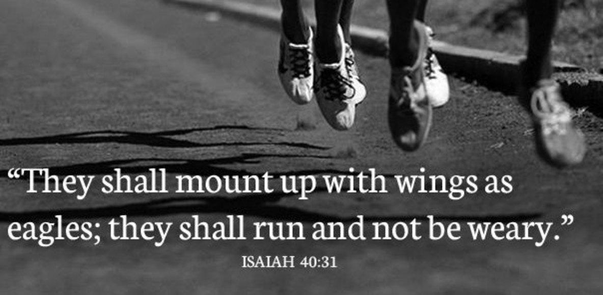 Isaiah 40:31 Run Crew