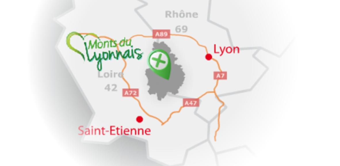 VTTistes des Monts du Lyonnais