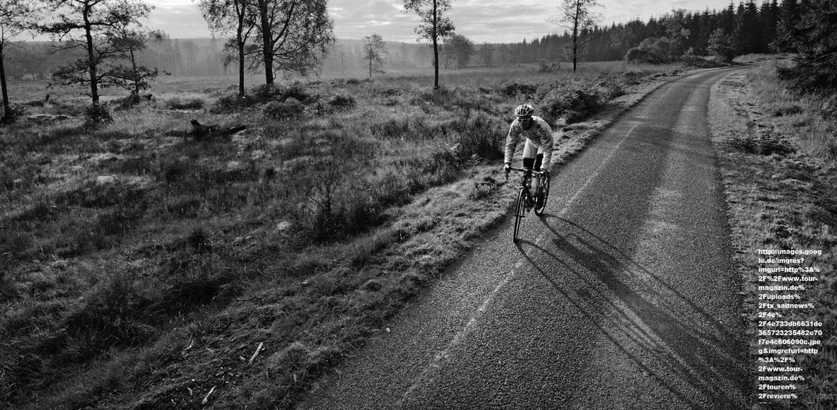 Rennradfahrer aus HEF