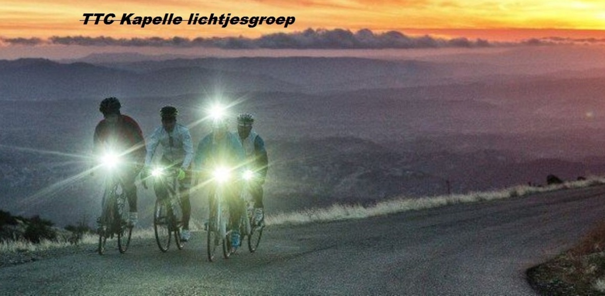TTC Kapelle lichtjesgroep