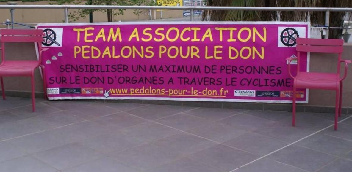 ASSOCIATION PEDALONS POUR LE DON