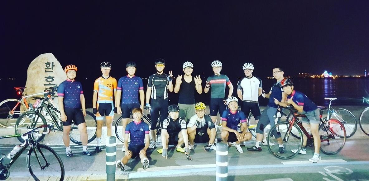 정달자 cycling club