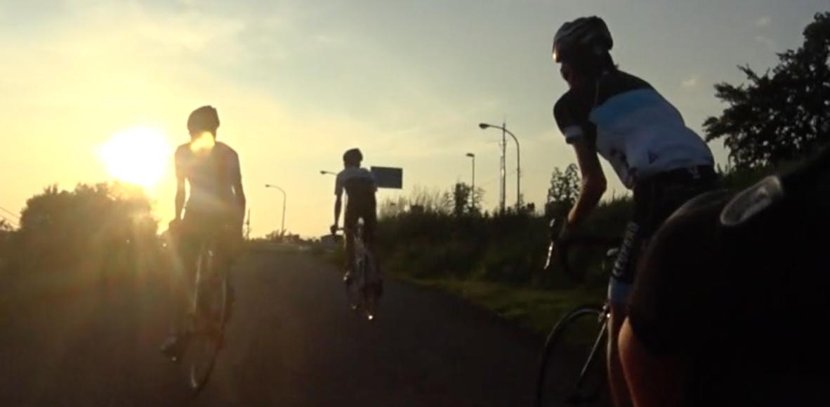 TCU cycle racing team