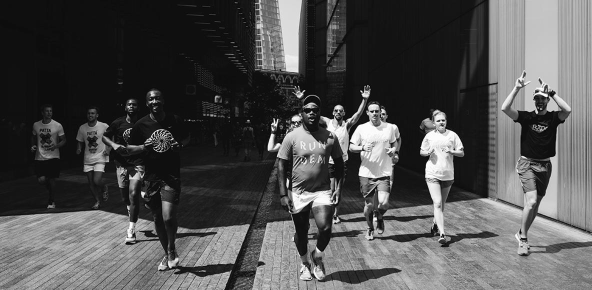 Urban running club