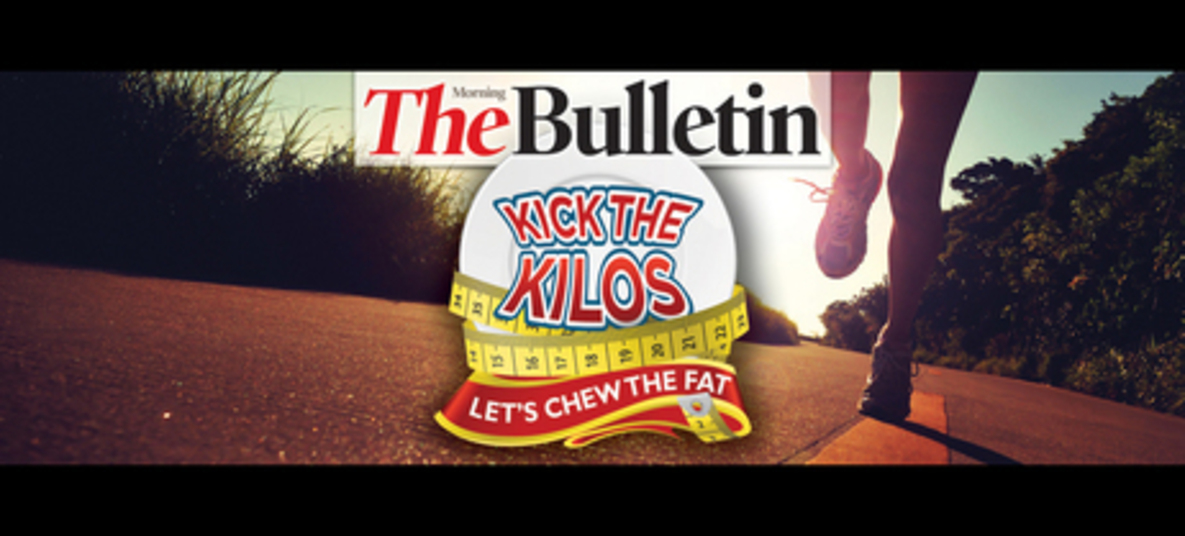 Rockhampton Morning Bulletin Kick the Kilos