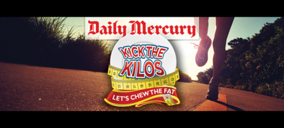 Mackay Daily Mercury Kick the Kilos