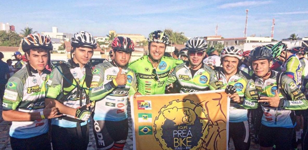 Equipe Preá Bike Itaú