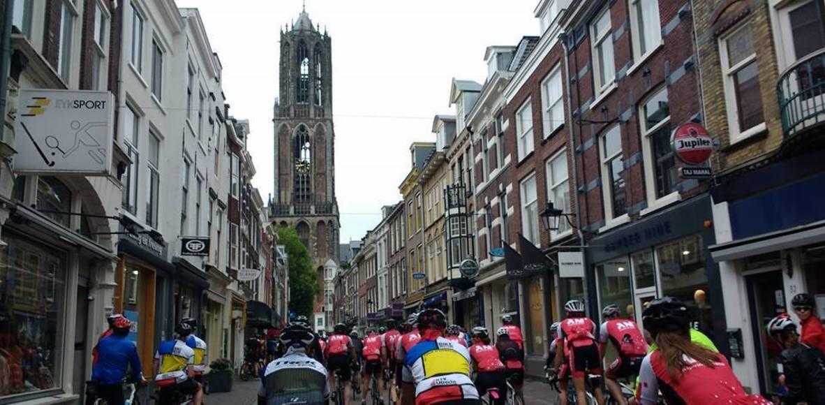 Utrecht wielrenners