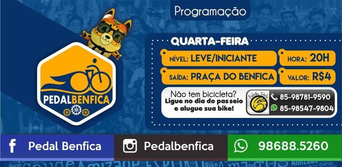 Pedal Benfica Fortaleza