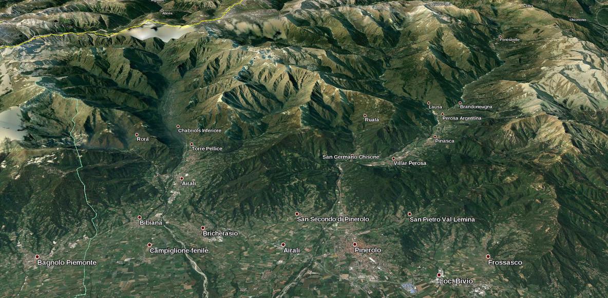 Val Chisone, Val Pellice e ..