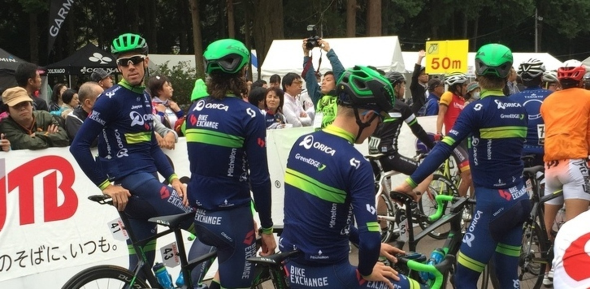 Orica BikeExchage Fan Club JAPAN