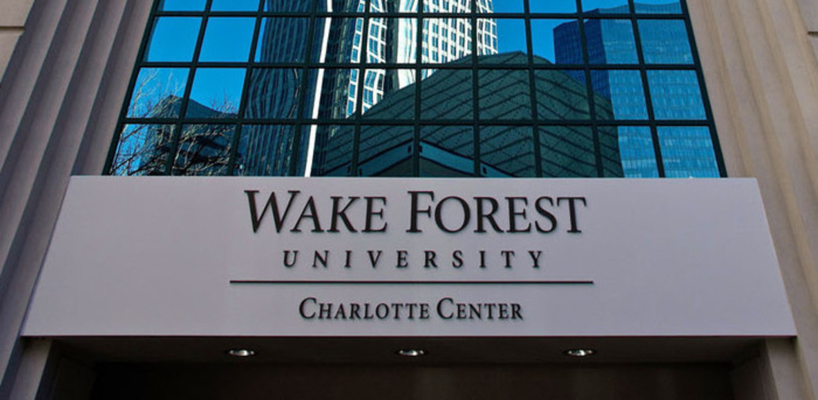 Wake Forest University Charlotte Running
