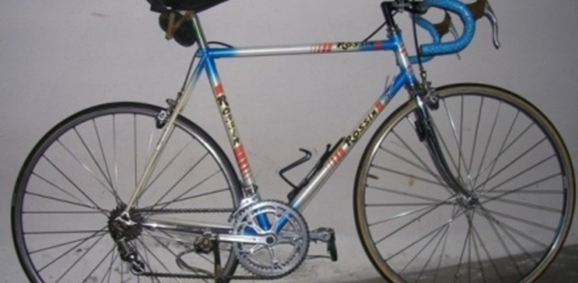 Ermanno in bici