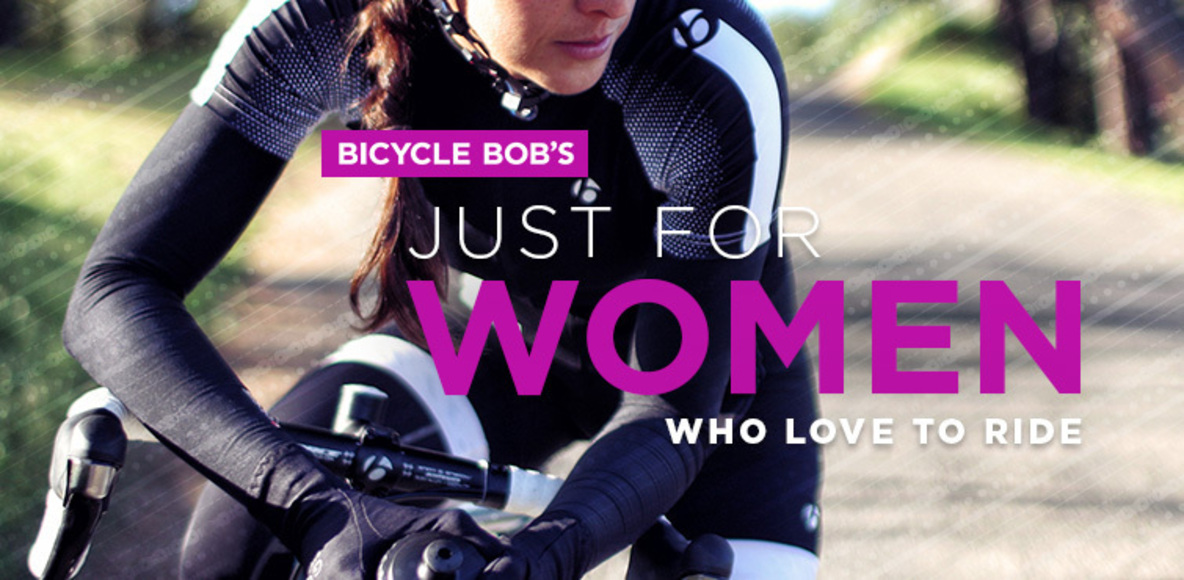 Bicycle Bob's Just For Women