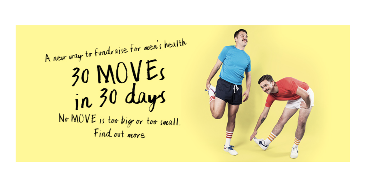 Official Movember Move Challenge Club