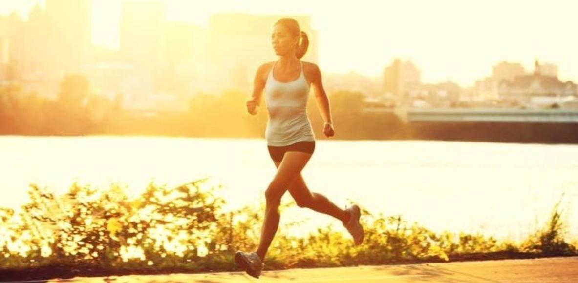 Fit durch Laufen