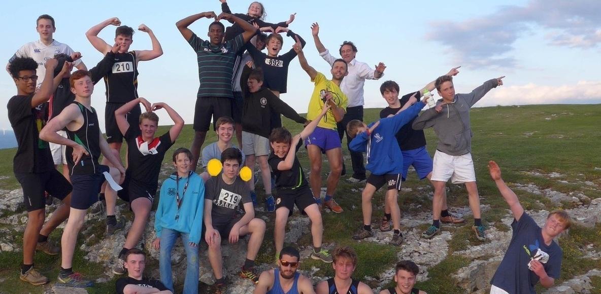 St Davids College Runners