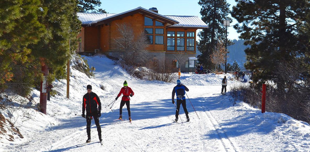 Bogus Basin Nordic Skiers