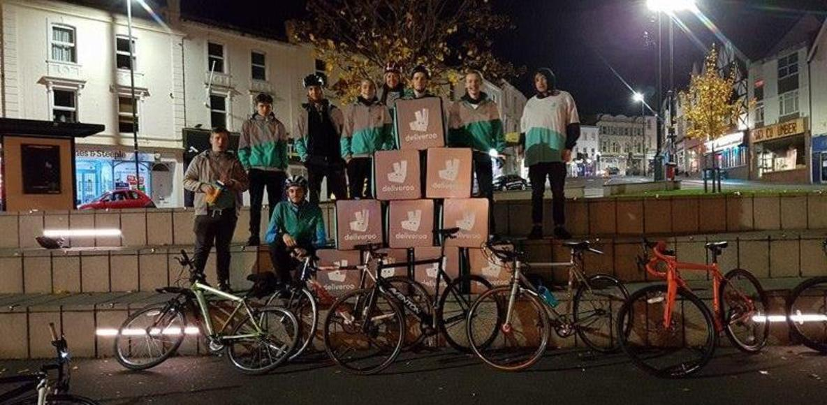 Deliveroo riders Bournemouth and Poole