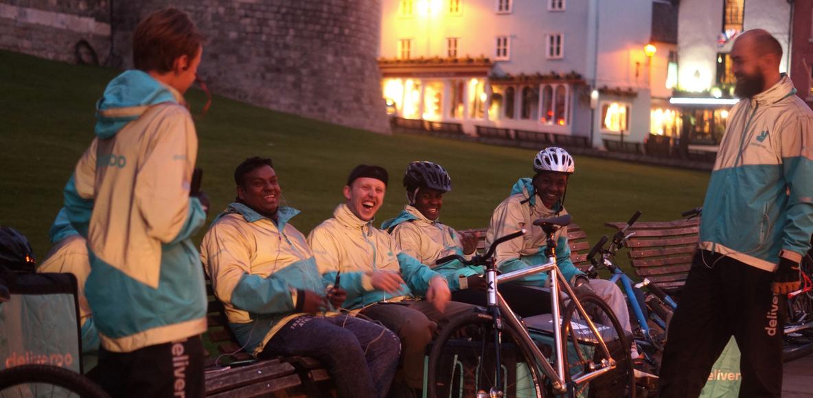 Deliveroo Riders Windsor