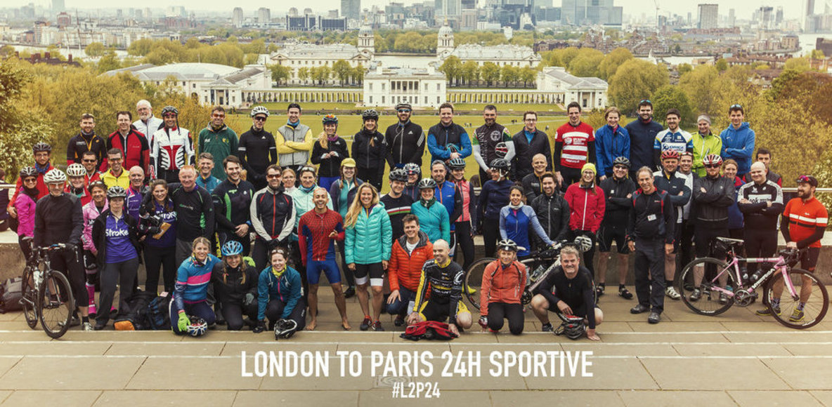 London to Paris 24 Challenge Sophie Sportive Group
