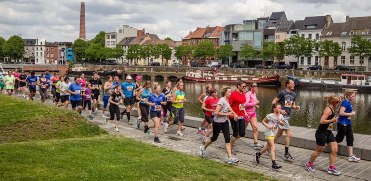 Lopen in Gent