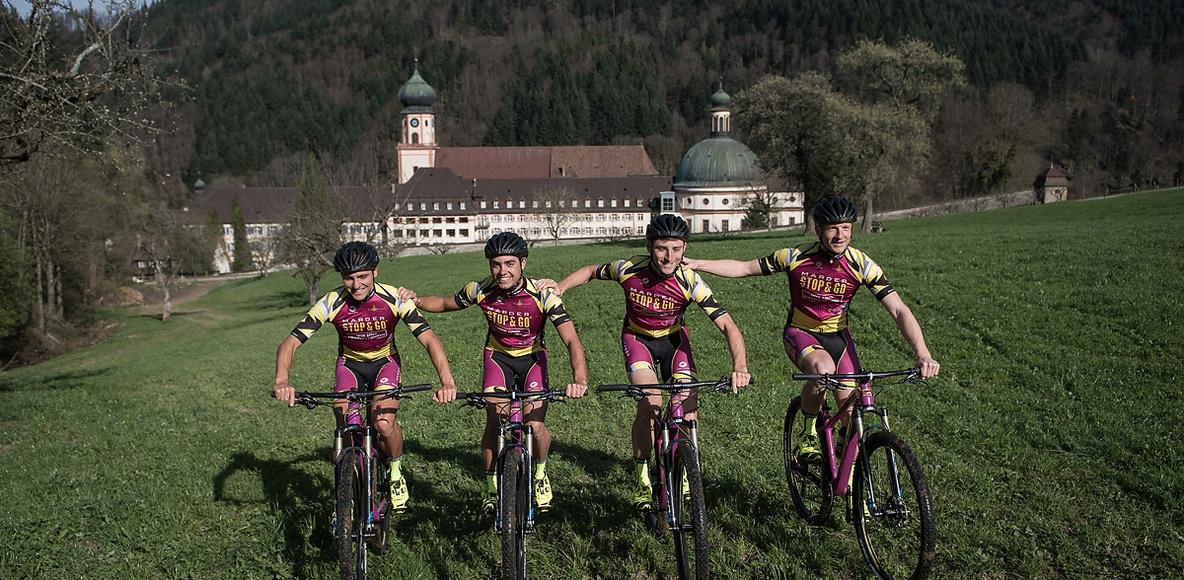 STOPandGO Marderabwehr MTB-Team