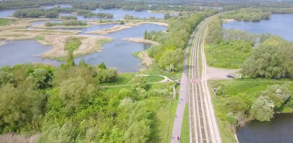 Cambridgeshire Guided Busway Footpath