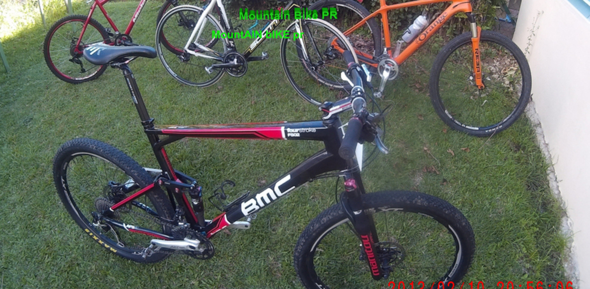 Mountain biker PR