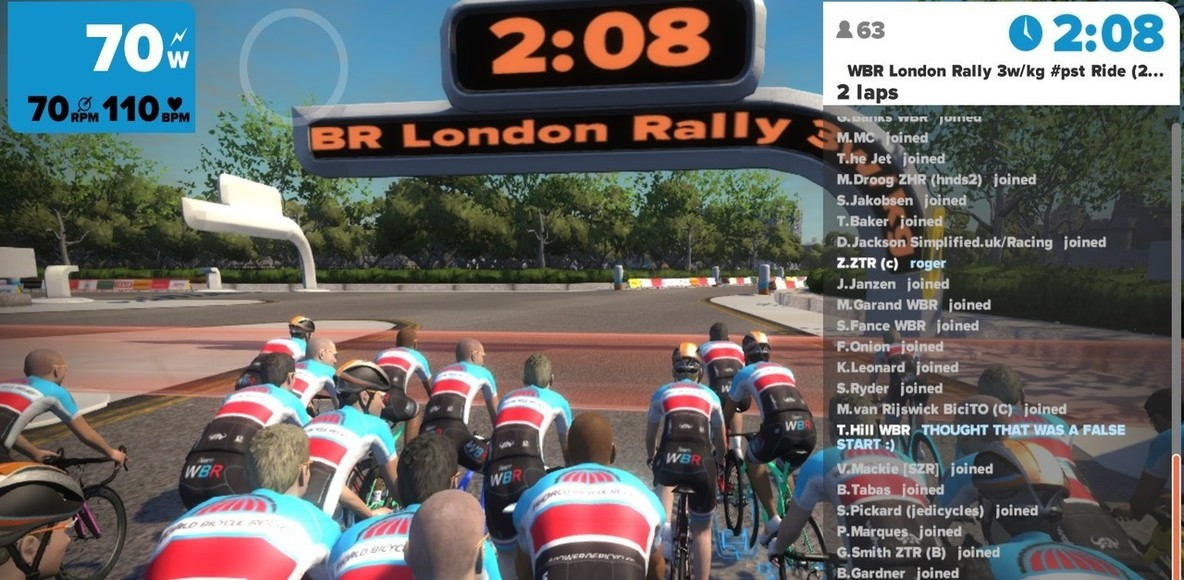 ZWIFT - San Francisco Bay Area, California