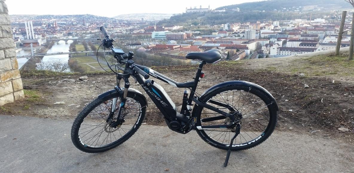E-Bike Unterfranken