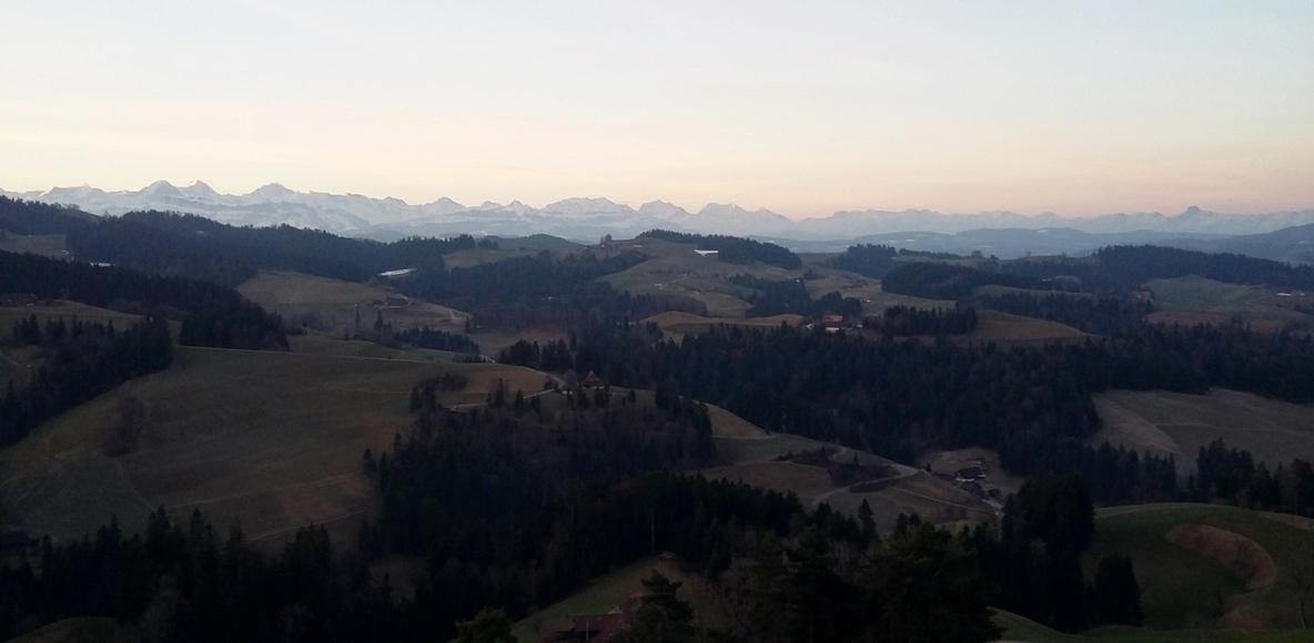 Running Switzerland