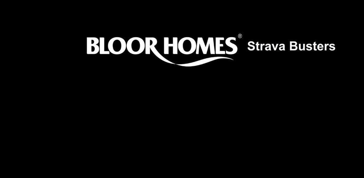 BLOOR HOMES STRAVA BUSTERS