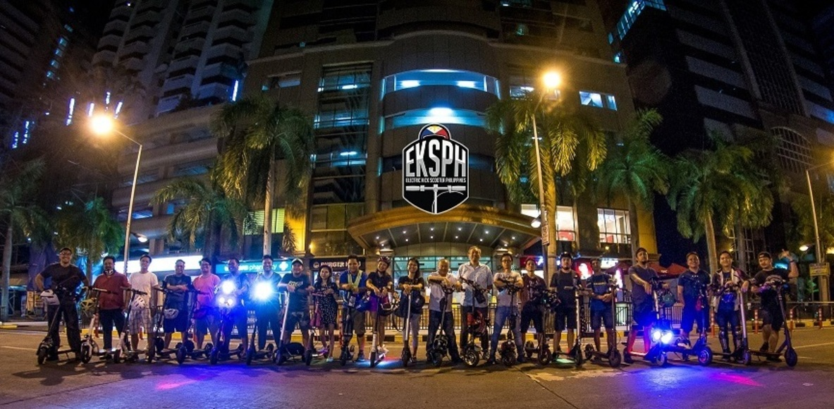 Electric Kickscoot Riders Club (EKS) PH