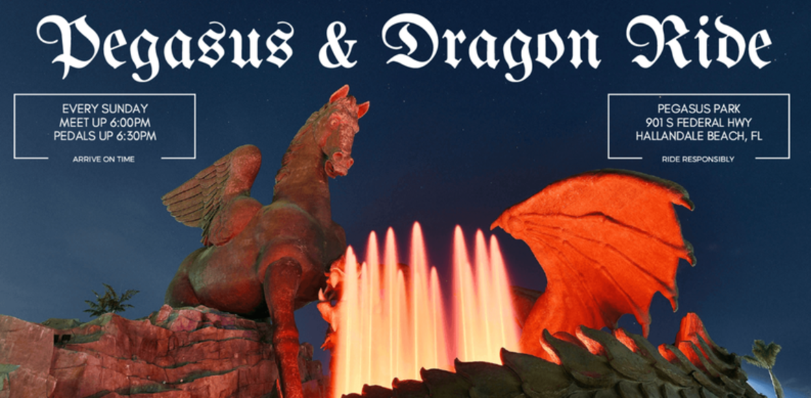 Pegasus  and Dragon