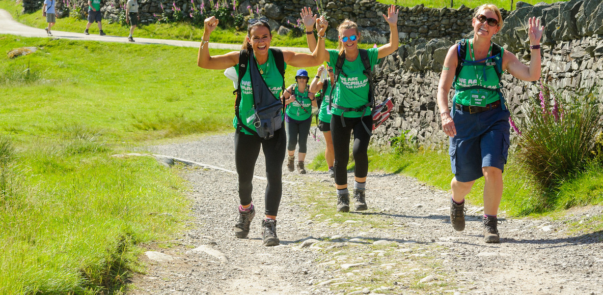 Team Macmillan Hiking Club