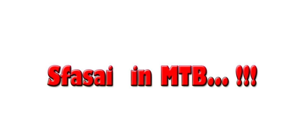 I SFASAI IN MTB
