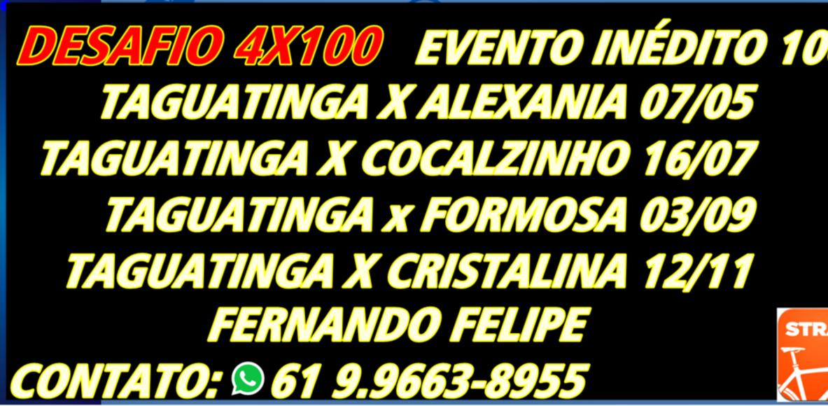 DESAFIO 4X100 2017