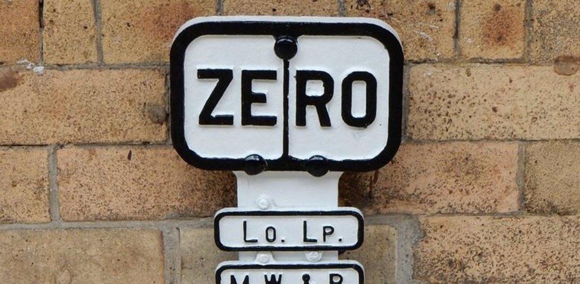 Zero Milepost Cyclists
