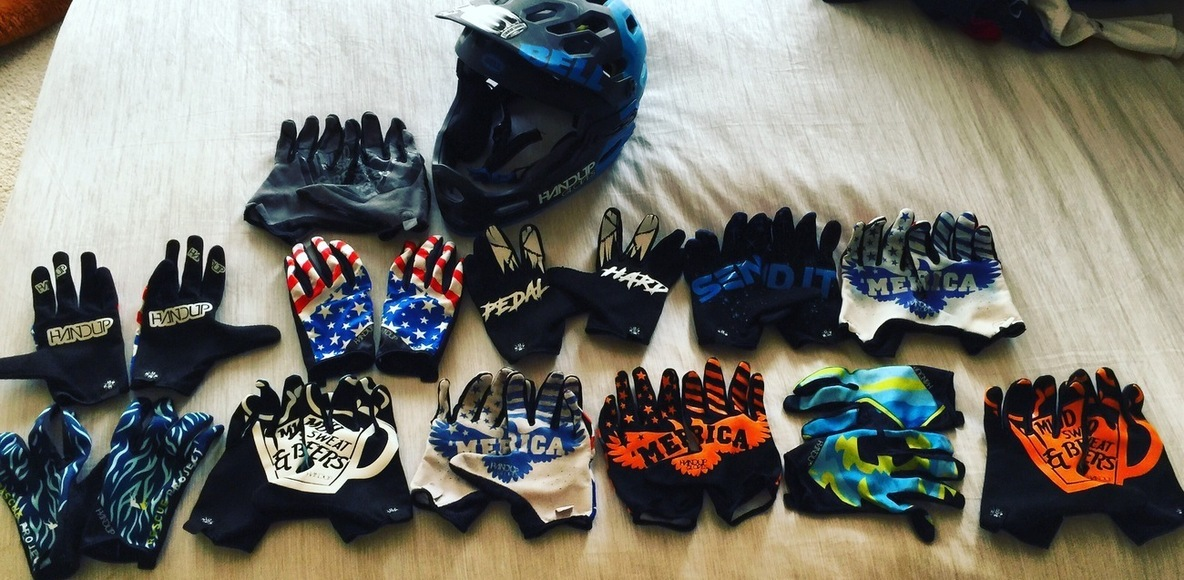HANDUP GLOVES AMBASSADORS and RIDERS